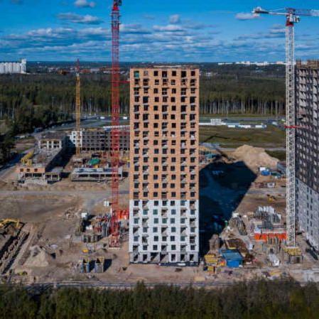 Ход строительства ЖК Орловский парк 2018